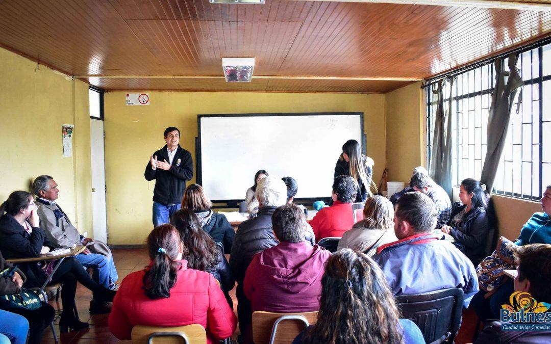 Crean nuevo comité de vivienda en Bulnes