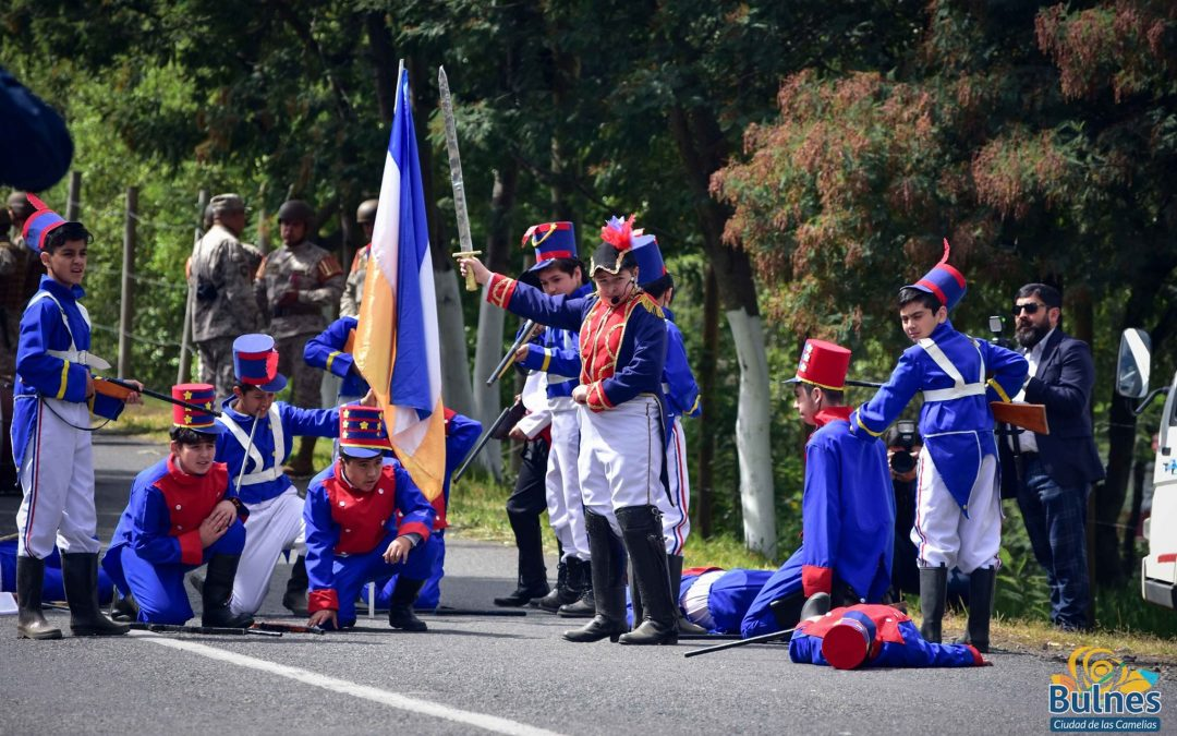 Conmemoraron 206 años de la gloriosa Batalla de El Roble