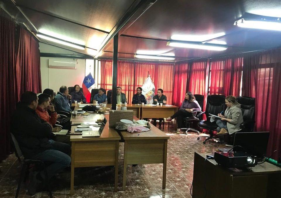 Destacan avances en obras para dos comités habitaciones en Bulnes
