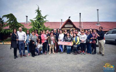 Mujeres Jefas de Hogar realizaron gira técnica a Quillón
