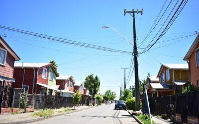 Entregan luminarias LED que favorecen a vecinos de las poblaciones Matías Madariaga