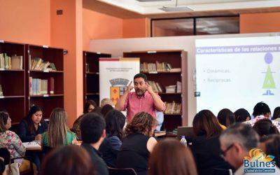 Universidad de Chile capacitó a escuelas de Bulnes en Convivencia Escolar