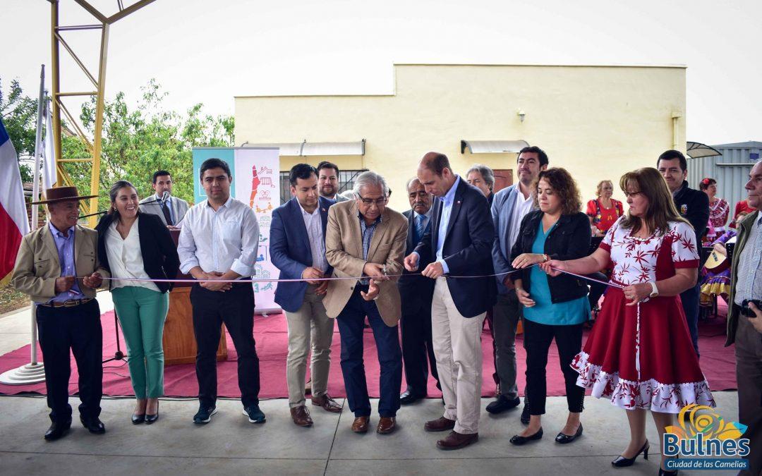 Inauguran gran techumbre para la Unión Comunal de Adultos Mayores de Bulnes