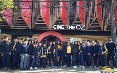 Escolares de la Escuela Evarista Ogalde Ortega disfrutan de una mañana de Cine
