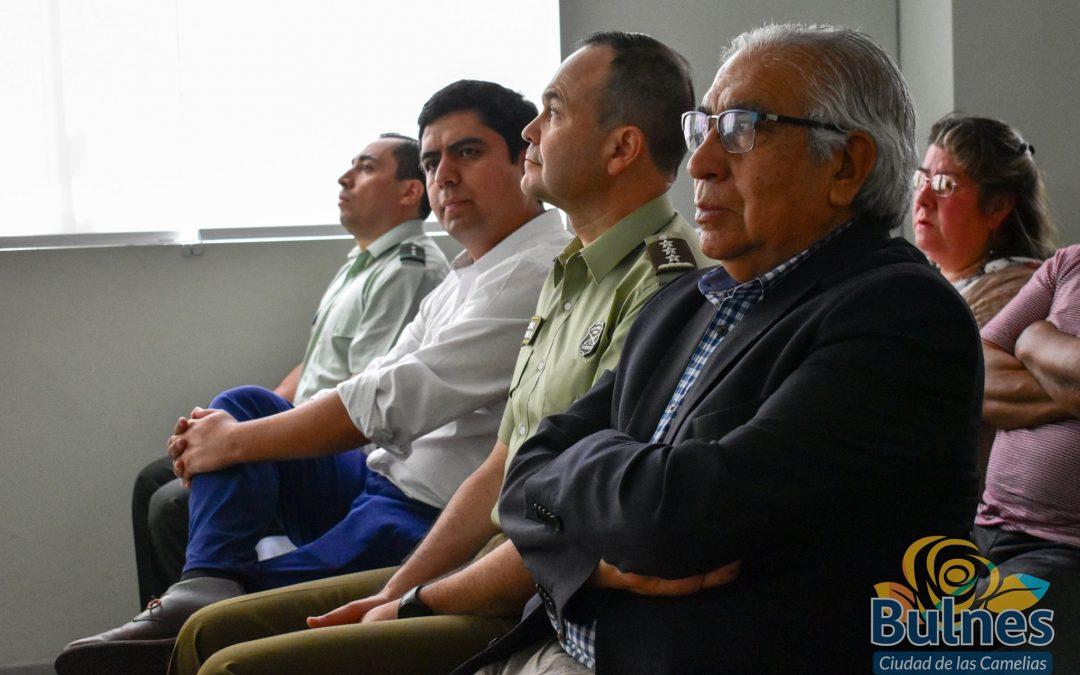 Municipio y Carabineros trabajan por mejorar los índices de seguridad pública en Bulnes