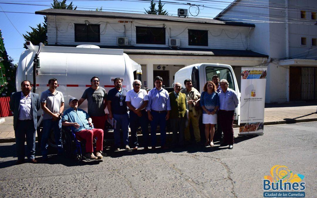 Llega moderno camión limpia fosas para la capital de la provincia de Diguillín