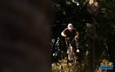 Bulnes brilló en competencia birregional de BMX