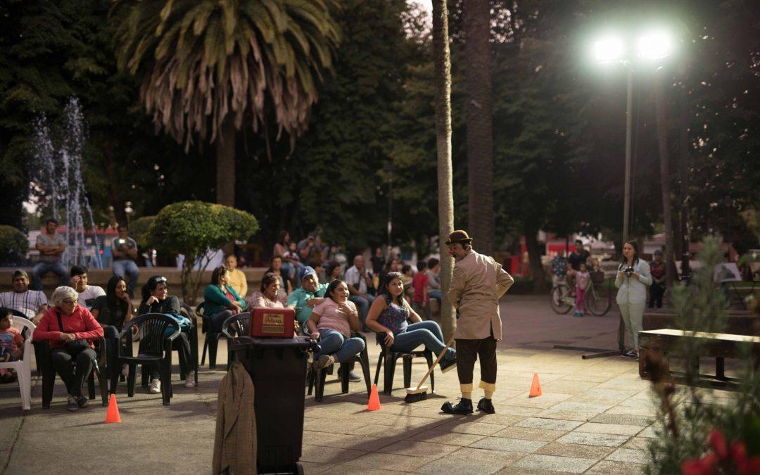 Tarde de cultura en la Plaza de Armas de Bulnes junto a la Comunidad