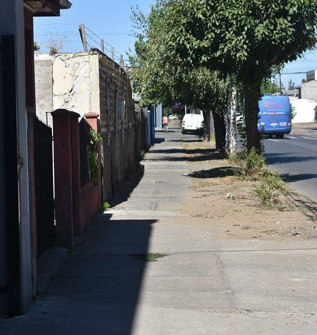 Proyectan mejoras en veredas en diversas calles de la ciudad