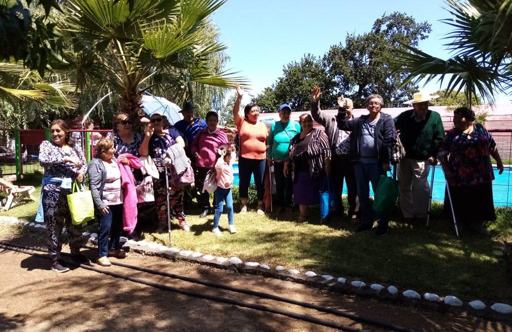 Vecinos de dos sectores de nuestra comuna visitaron localidades turística de Bulnes y Santa Clara