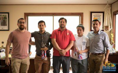 Deportistas de Bulnes obtienen grandes resultados en Campeonato Nacional de Halterofilia