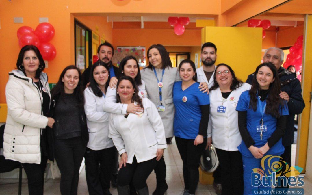 Saludo a los funcionarios en el Día Mundial de la Salud