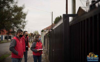 Familias del centro de Bulnes acceden a ayudas sociales de la municipalidad
