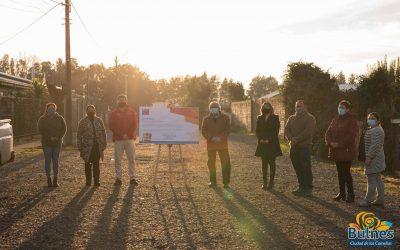 Bulnes avanza con tres proyectos de pavimentación participativa