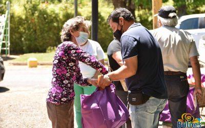 Masiva entrega de alimentos favoreció a más de 600 familias de Tres Esquinas