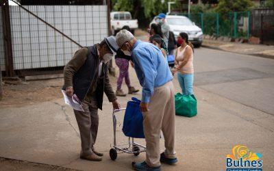 Municipio cumple con sector de Pueblo Seco y distribuye alimentos de forma masiva