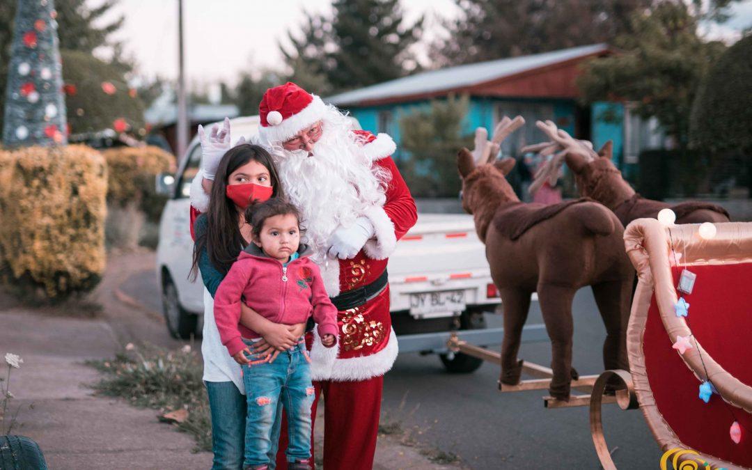 Fiesta navideña en Bulnes