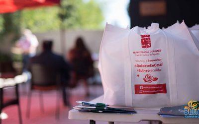 Juntas de Vecinos recibieron kits sanitarios para prevenir Covid-19
