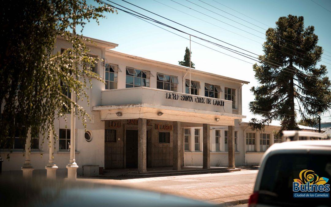Alza de alumnos matriculados registra Liceo Santa Cruz de Larqui