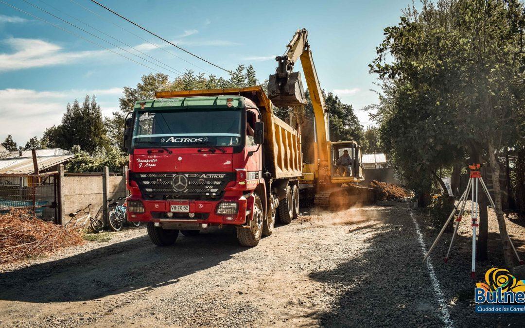 Importantes proyectos de pavimentación participativa se ejecutan en Bulnes