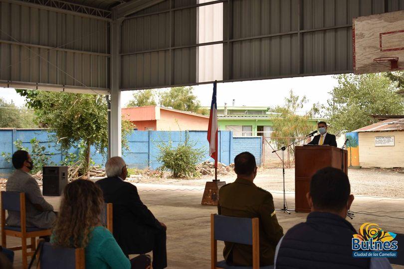 Hermosearán hall de acceso de la escuela Pal Pal de Santa Clara