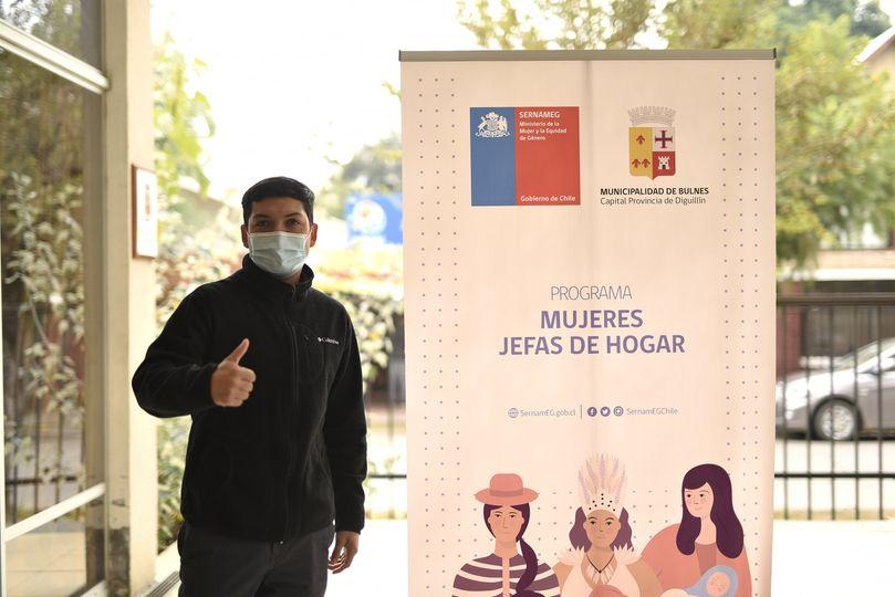 Nuevo encargado de programa Jefas de Hogar potencia el trabajo de las mujeres de Bulnes