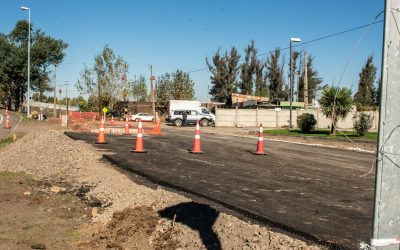 Importantes avances en ejecución de pavimentos urbanos