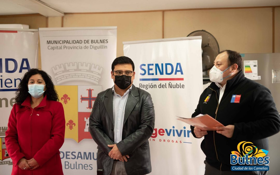 """Departamento de Salud Municipal se suma al trabajo preventivo de SENDA a través del Programa """"Trabajar con Calidad de Vida"""" firmando acuerdo protocolar de colaboración."""