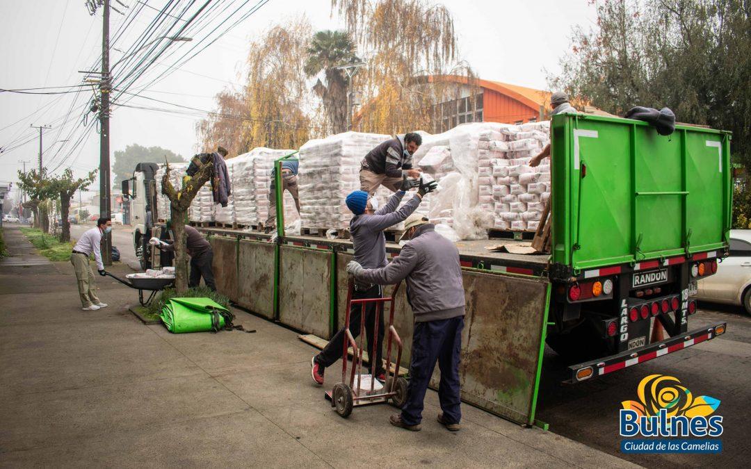 Nuevo cargamento de harina fue recepcionado