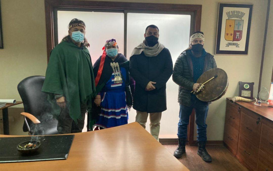 Alcalde se compromete con los pueblos originarios de Bulnes