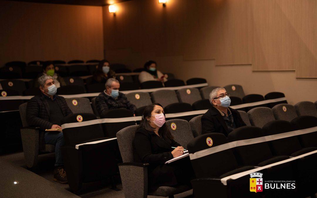 Productiva reunión entre directores de escuelas locales de cara a la vuelta a clases
