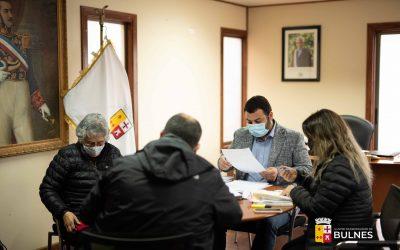 Alcalde Guillermo Yeber Rodríguez recibe visita protocolar de la Presidenta de ARDA de la ciudad de Chillán, con el objeto de realizar alianzas estratégicas que beneficien a los vecinos de la comuna de Bulnes