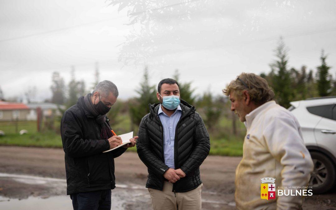 Sector Santa Rosa recibe visita de alcalde y directivos de COPELEC
