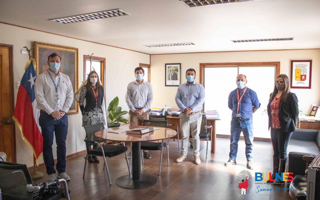 Bulnes recibe apoyo de la ACHS para cuidar a nuestros trabajadores