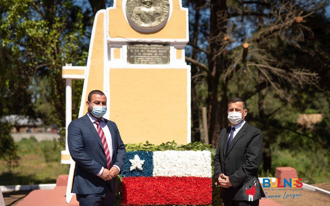 """Bulnes y Quillón conmemoraron los 208 años de la Batalla Paso """"El Roble"""""""